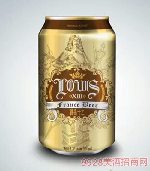 路易十三啤酒黄啤330ml