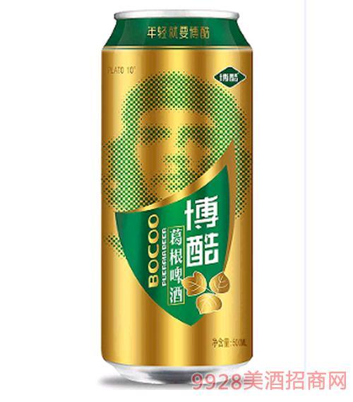 葛根啤酒金罐10度500ml
