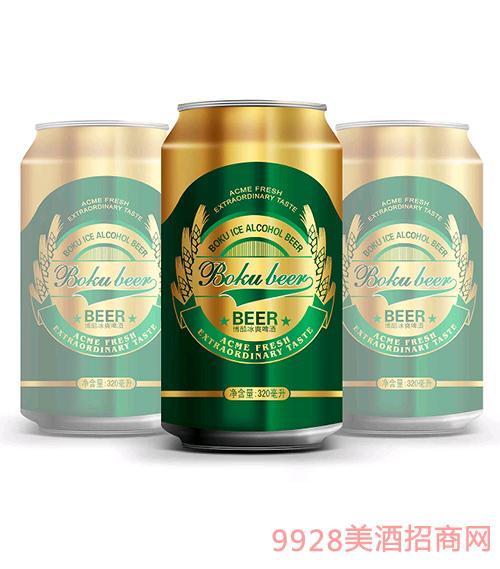 博酷啤酒冰爽8度500mlx12