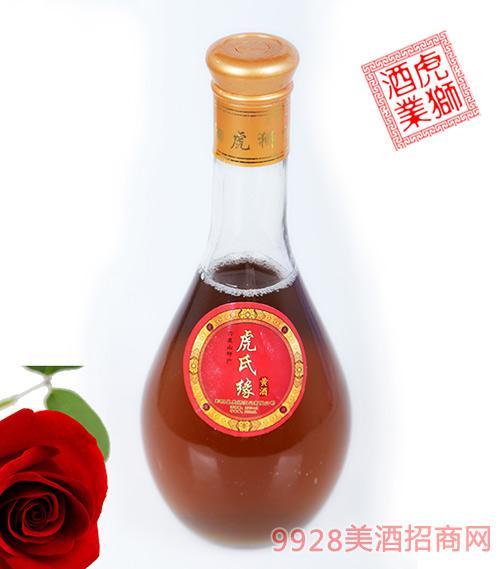 虎氏缘黄酒半干型黄酒500ml瓶装
