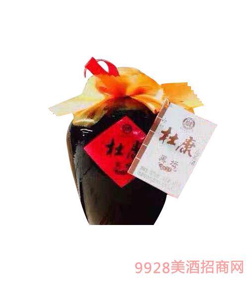 杜康黑坛国花酒52度500ml