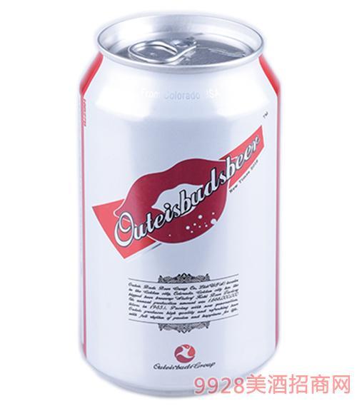 欧特斯啤酒罐装3.3度320ml