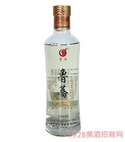 鲁荞苦荞酒黑苦荞500ml
