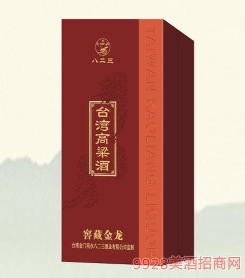 台湾高粱酒窖藏红龙45度500ml