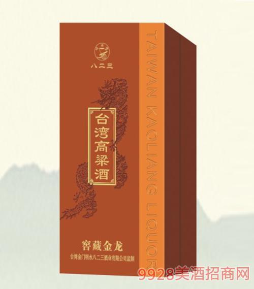 台湾高粱酒窖藏黄龙38度500ml