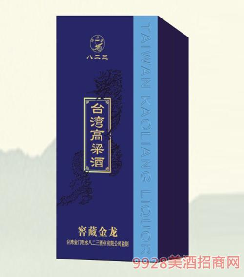 台湾高粱酒窖藏蓝龙52度500ml