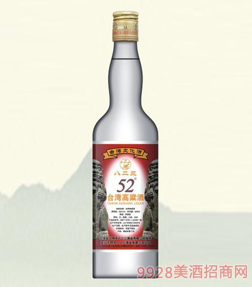 八二三台湾高粱酒经典52度600ml