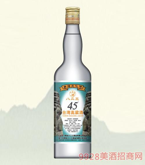八二三台湾高粱酒经典45度600ml