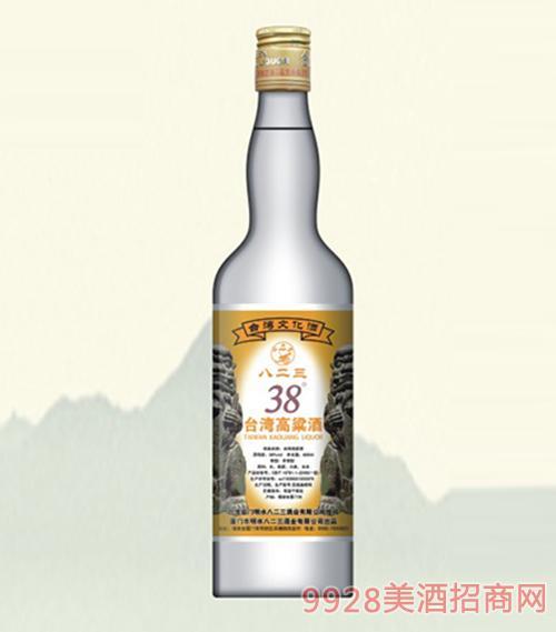 八二三台湾高粱酒经典38度600ml