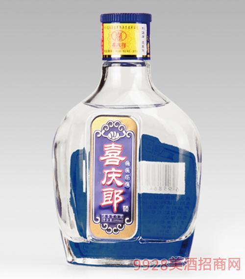 喜庆郎景芝小酒蓝色