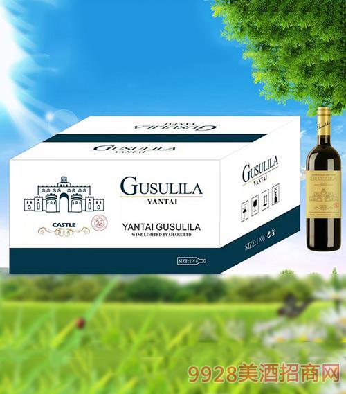 古苏里拉城堡干红葡萄酒750ml