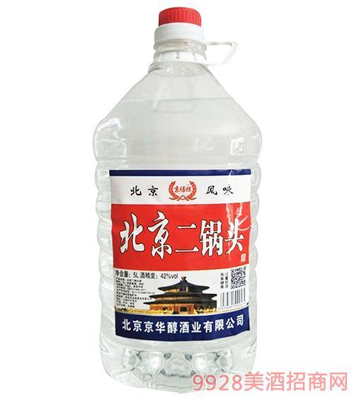 京禧拦北京二锅头42度5L