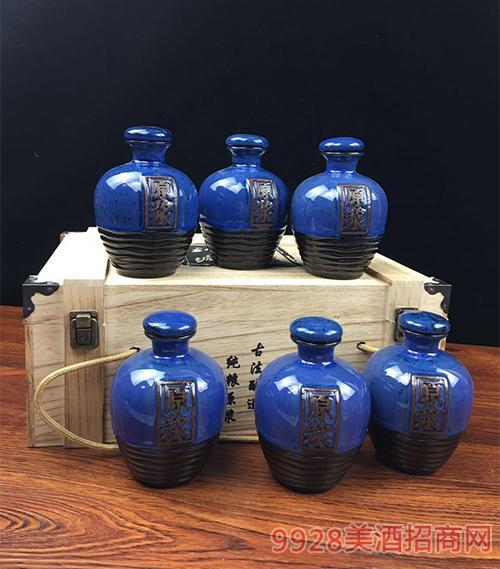 兰原浆(木箱)坛子酒