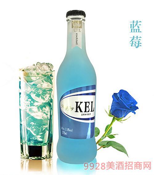 酷儿乐鸡尾酒蓝莓3.8度275ml