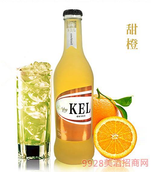 酷儿乐鸡尾酒甜橙3.8度275ml