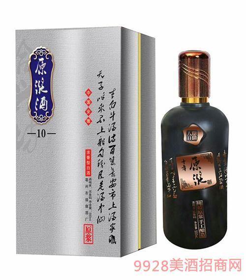 安徽原浆酒浓香型500ml