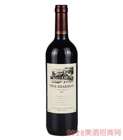 意大利晓梦干红葡萄酒12度750ml