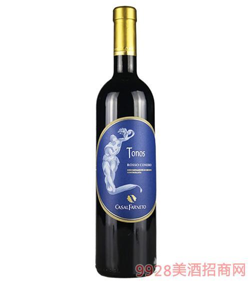 意大利托诺斯干红葡萄酒13度750ml