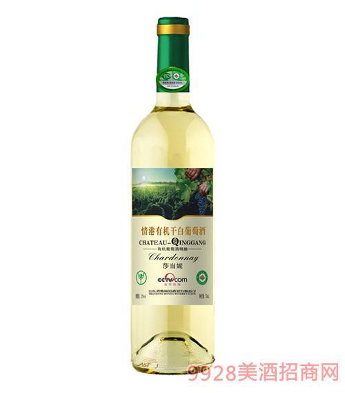 情港莎当妮有机干白葡萄酒750ml