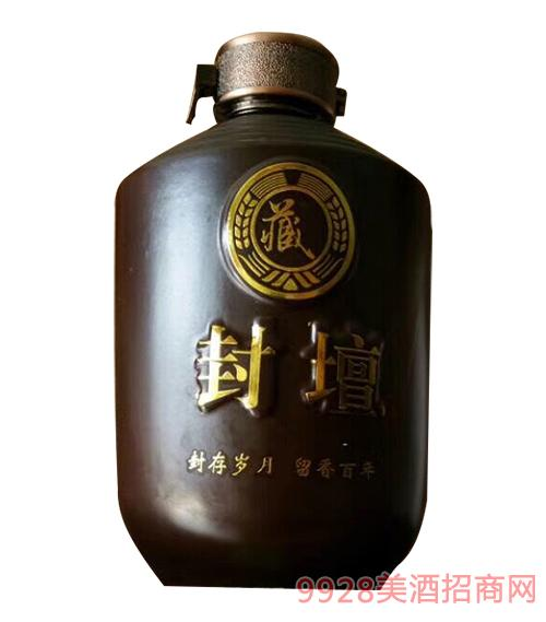 虢府宴青稞酒坛装清香型52度500ml