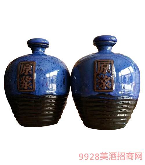 虢府宴青稞酒坛装原浆酒清香型52度500ml