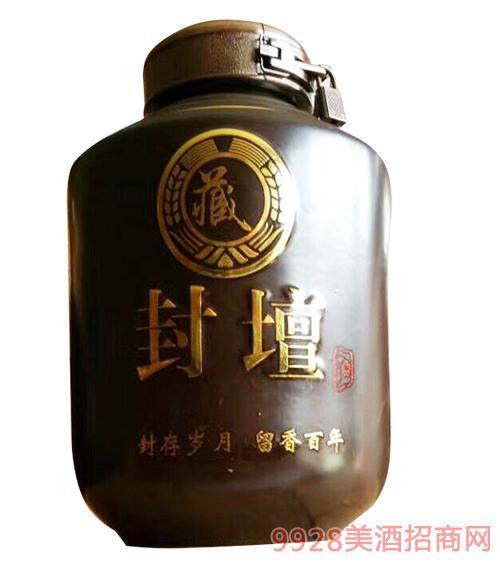 虢府宴青稞酒封坛清香型52度500ml