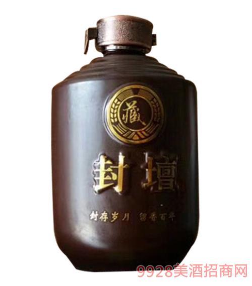 虢府宴青稞酒坛子酒清香型52度500ml