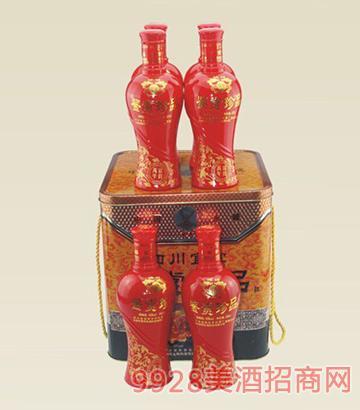 鉴赏珍品婚宴酒46度500mlX6瓶