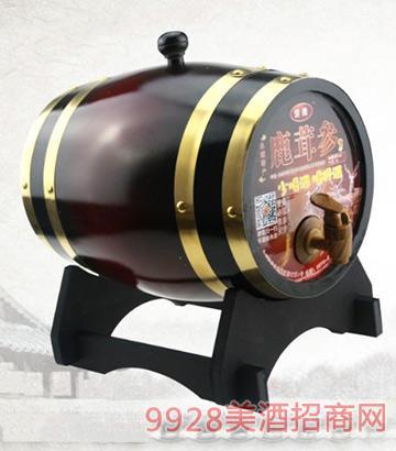 鹿茸参酒46度5L橡木桶装