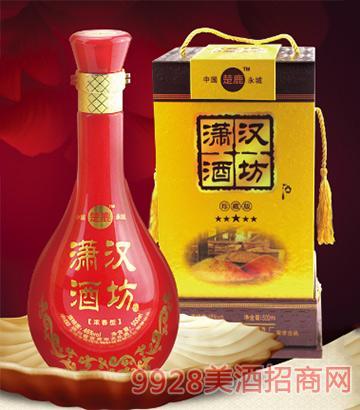 潇汉酒坊珍藏版46度500mlX6瓶