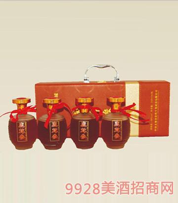 鹿茸参酒46度240mlX4瓶