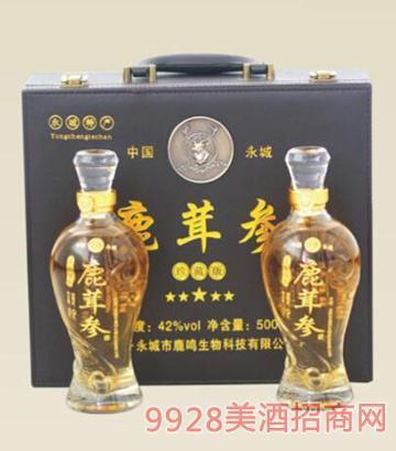 鹿茸参酒珍藏版42度500mlX2瓶