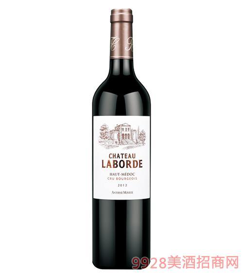 法国拉博德城堡干红葡萄酒750ml