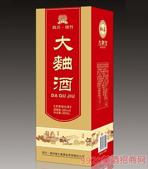 四川粮之春大曲酒浓香型50度500ml