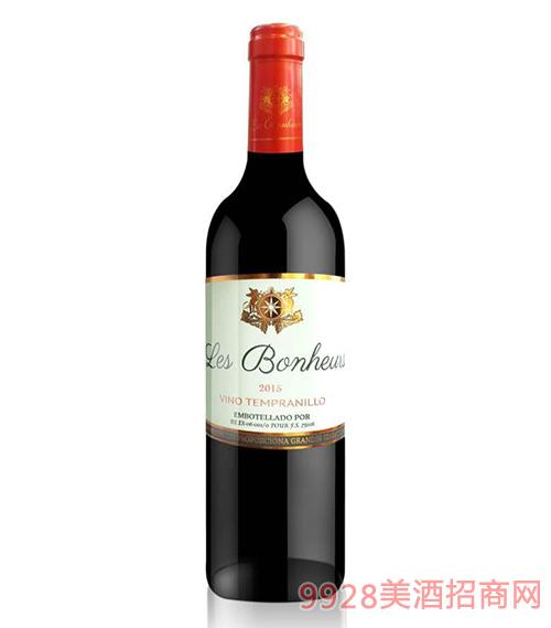 西班牙喜汇仕添普尼洛红葡萄酒11.5度750ml