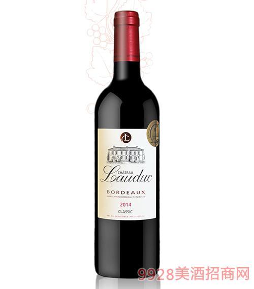 法国乐图庄园红葡萄酒13度750ml