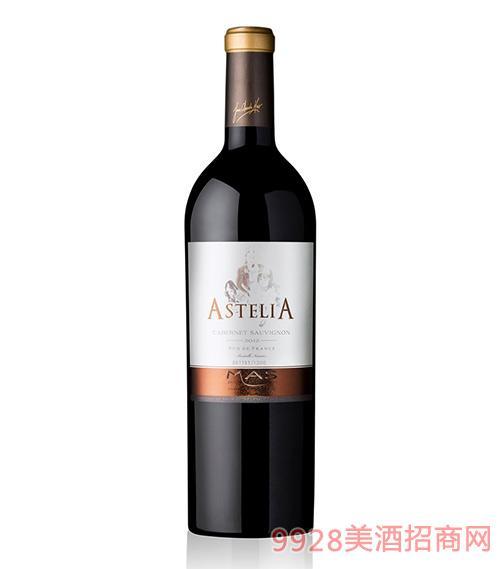 法国维纳斯仙女庄限量版红葡萄酒14.5度750ml