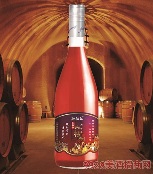 珈裕红老山楂酒750ml