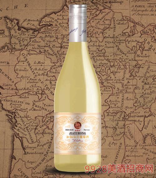 珈裕红甜白葡萄酒