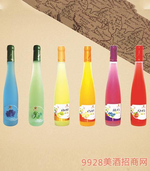 珈裕红水果酒375ml