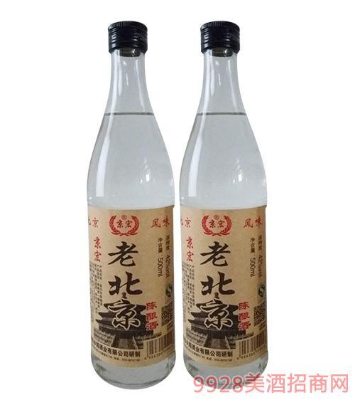 京宏老北京陈酿酒42度500ml