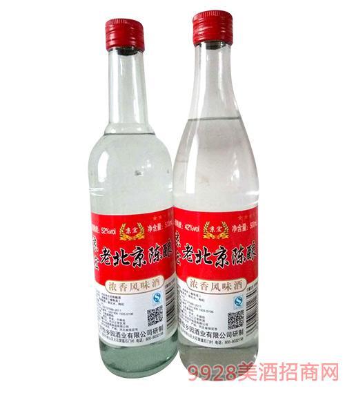 京宏老北京陈酿白酒52度500ml