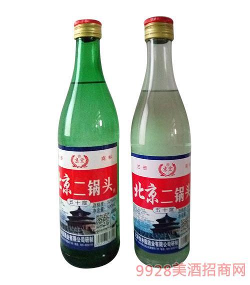 京宏北京二锅头酒50度500ml