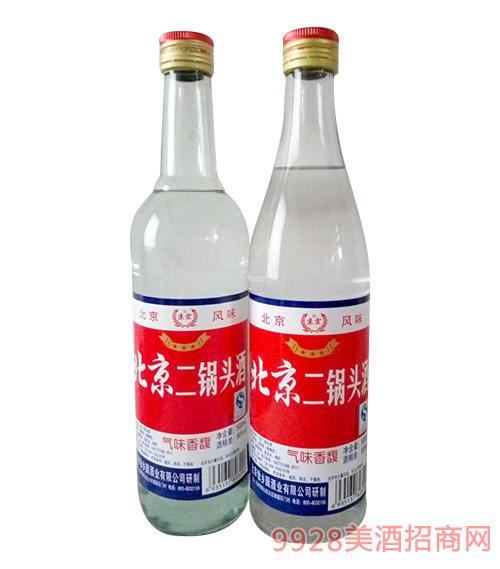 京宏北京二锅头酒白瓶56度500ml
