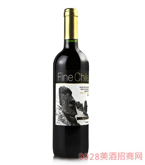 泛芝霖佳美娜红葡萄酒13.5度750ml