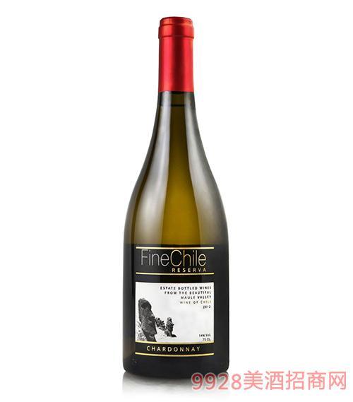 泛芝霖雪丹妮珍藏红葡萄酒14度750ml