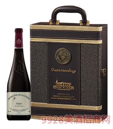 法国萨尔威城堡干红葡萄酒750ml