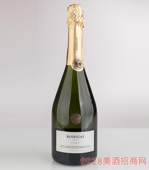 波依加斯陈酿起泡酒干型12度750ml