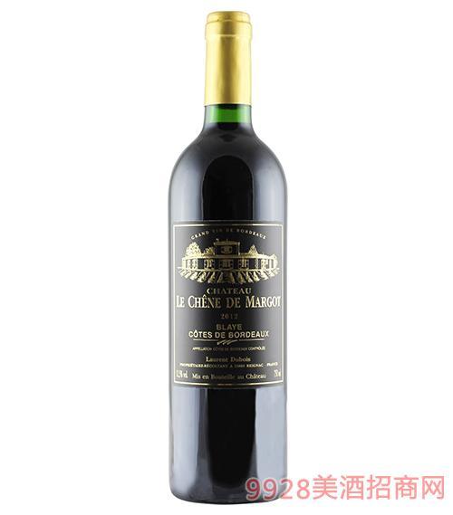 法国黑金城堡干红葡萄酒12.5度750ml