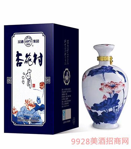 汾酒集团杏花村清酒52度1000ml清香型白酒